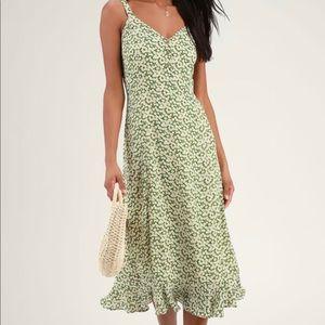 Lulu's Dresses - Lulus midi floral dress